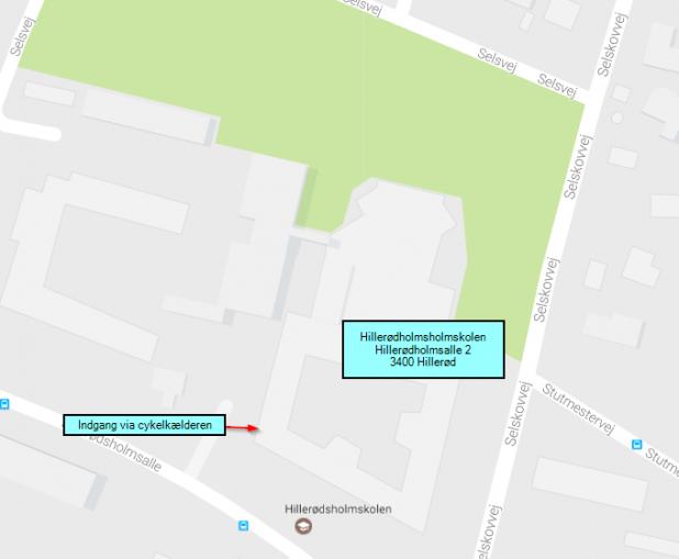 Kort Hillerødholmsskolen